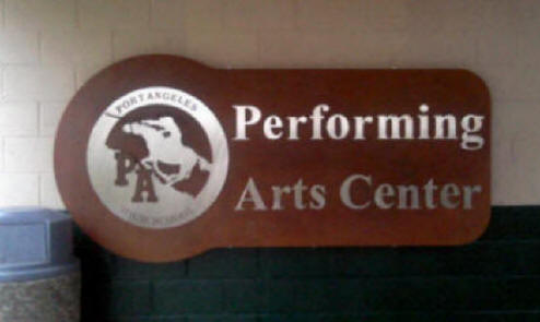 Performing Arts Center Logo